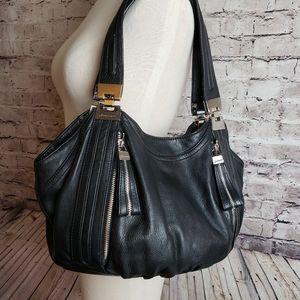 EUC B. Makowsky Black Shoulder Purse Bag